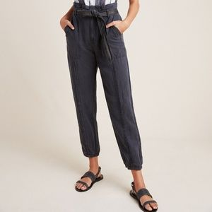 Anthropologie Tapered Utility Joggers